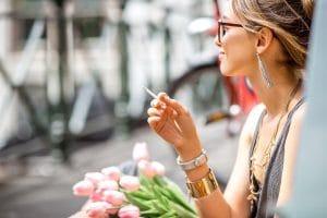 smoking marijuana in public